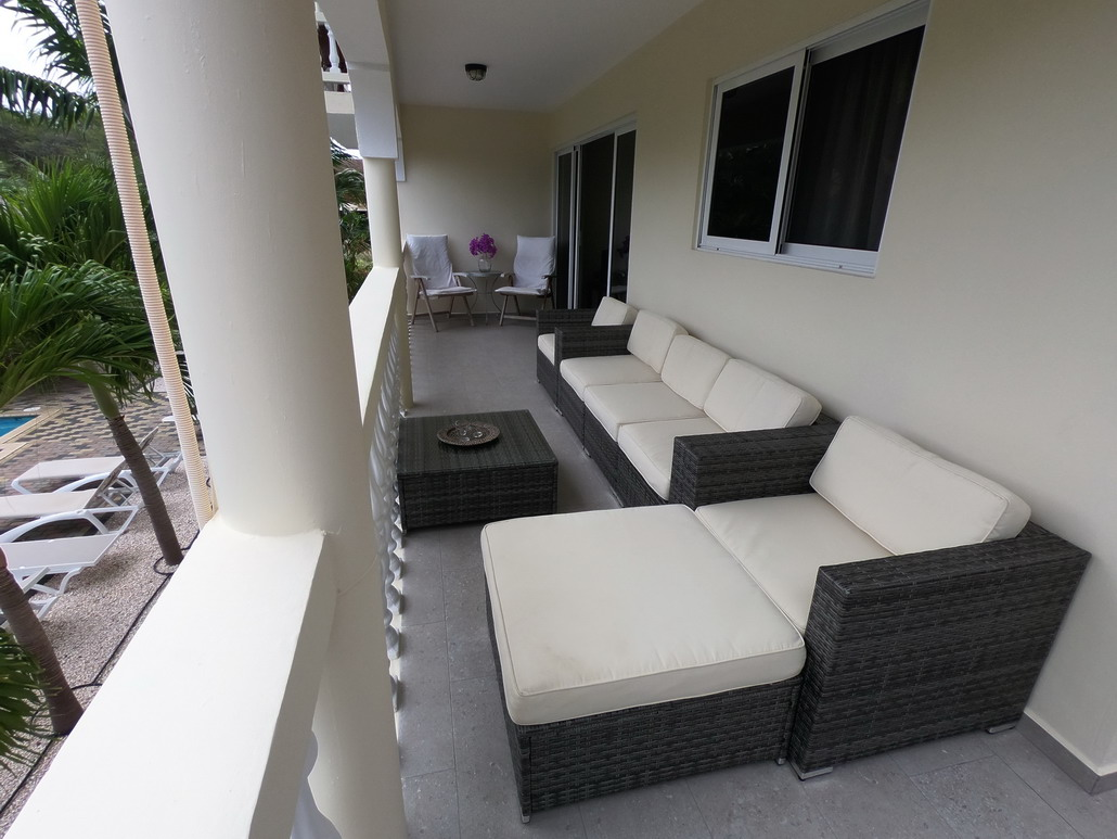4 persoons appartement, balkon