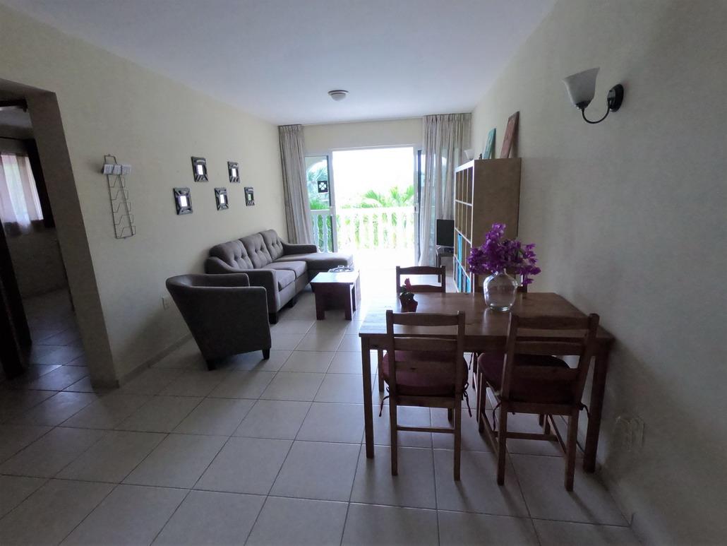 4 persoons appartement, huiskamer