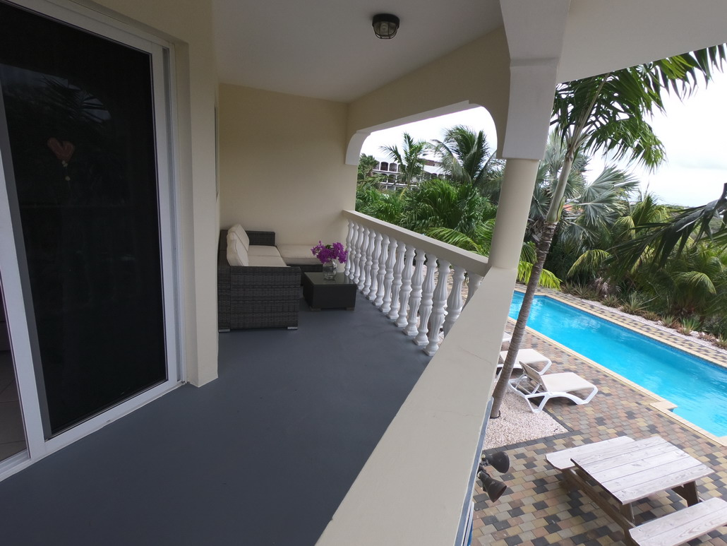 2 persoons appartement, balkon