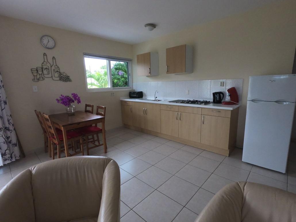 2 persoons appartement, keuken